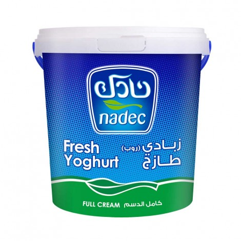 Nadec Fresh Yoghurt Full Fat.1Kg