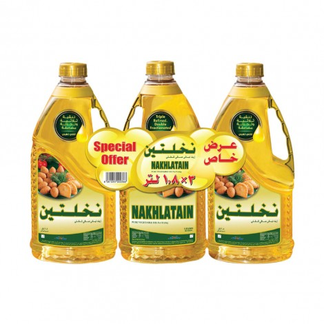 Nakhlatain Vegetable Oil 3x1.8L