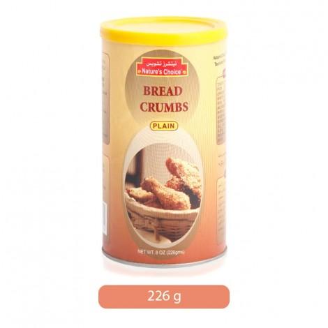 Nature's Choice Plain Bread Crumbs - 226 gm