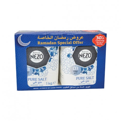 Nezo Refined Salt Blue, 2x1kg