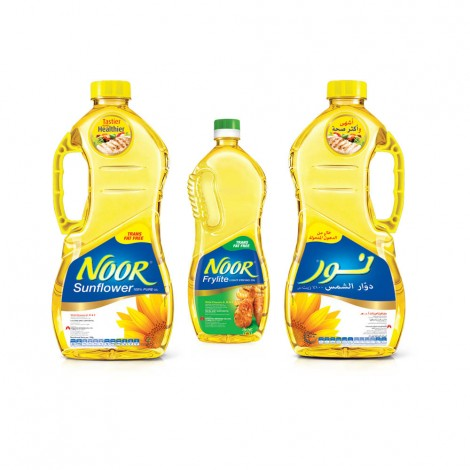 Noor Sunflower Oil 2x1.8ltr + 750ml Frylite