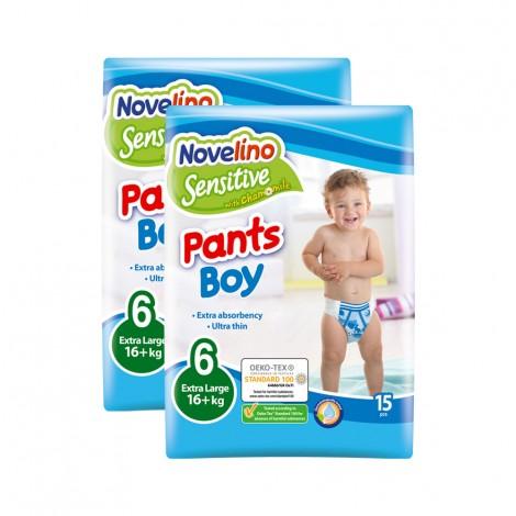 Novelino Sensitive Pants Boy N6 16+Kg, 2x15's