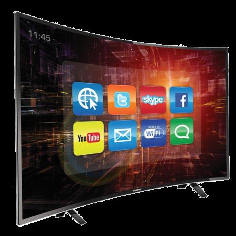 """Nikai 50"""" Curve Smart LED TV NTV5000CSLED"""