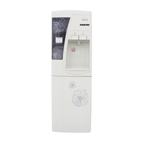 Nikai Water Dispenser With Refrigerator NWD1206N