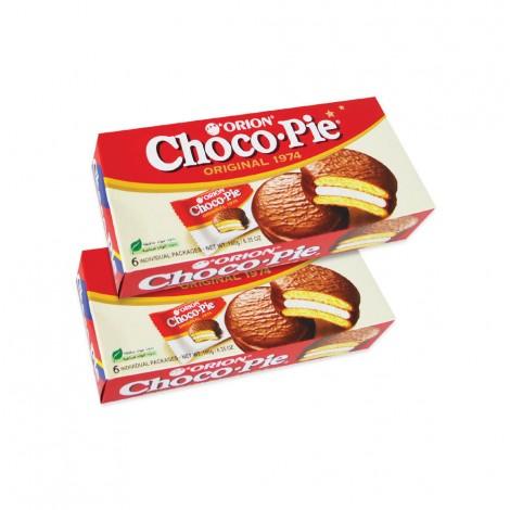 Orion Choco Pie 2x6x28gms
