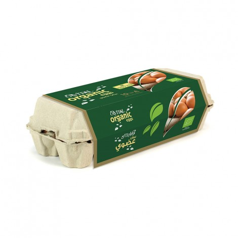 Orvital Organic Eggs Medium, 10pcs