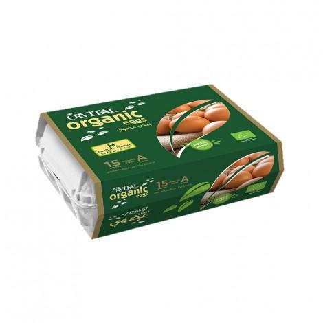 Orvital Organic Eggs Medium, 15pcs