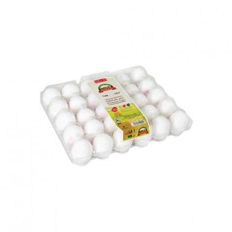 Ova Plus White Eggs Medium, 30's
