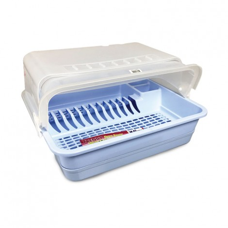 Picnic Plast Dish Rack With Tray & Cover