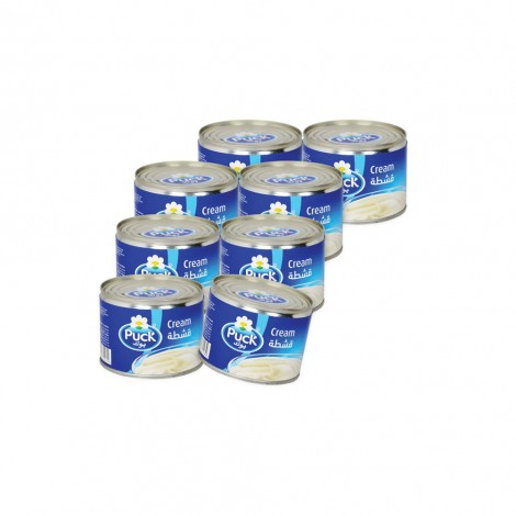 Puck Sterilized Cream 8X170 gm