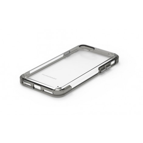 Puregear Slim Shell Pro Clear/Grey For Iphone 7 61581PG