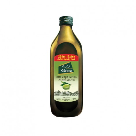 Rahma Extra Virgin Olive Oil, 750ml+250 ml