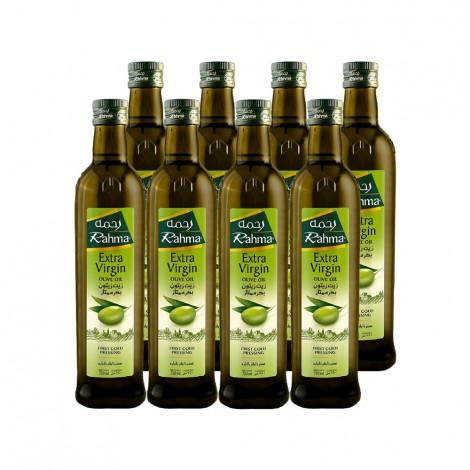 Rahma Extra Virgin Olive Oil, 8x750ml