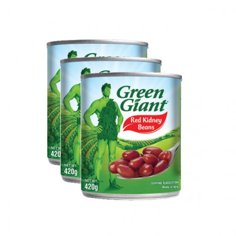 Green Giant Red Kidney Beans 3X420Gm