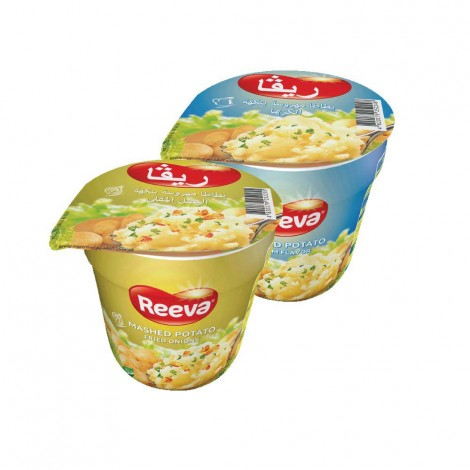 Reeva Mashed Potato Assorted 2x37 gm