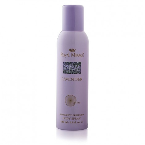 Royal Mirage Body Spray Lavender 200ml