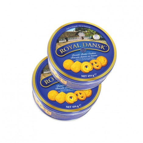Royal Dansk Butter Cookies 2x454gms