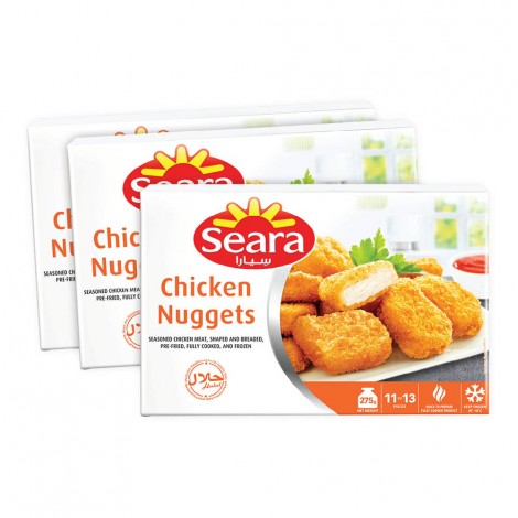Seara Chicken Nuggets 3X275gm