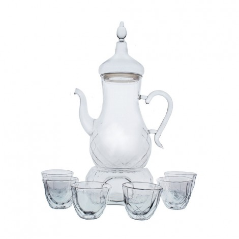 Shallow Double Wall Cups Set 8 Pcs