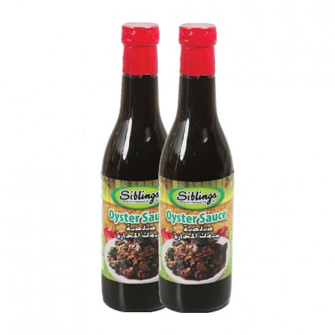 Siblings Oyster Sauce - 2x375gm