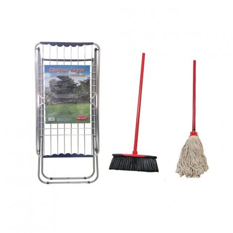Sirocco cloth Dryer + Mop & Broom W/Handle