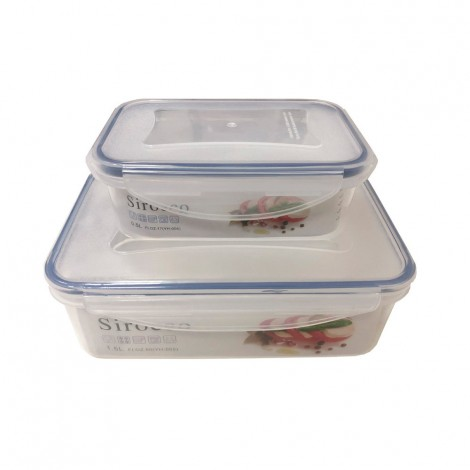 Sirocco Food Container 1.50L + 0.50L