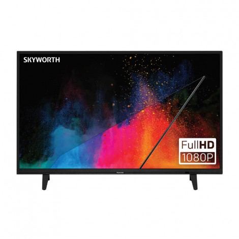 "Skyworth 40E2 40"" LED TV With Built 4.00E+03"