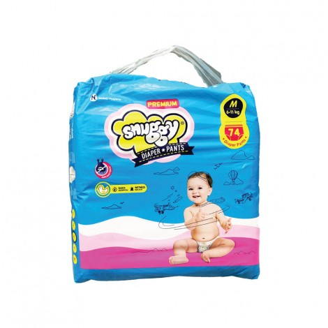 Snuggys Baby Diapers 74's