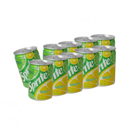 Sprite Soft Drink Can - 10x150ml