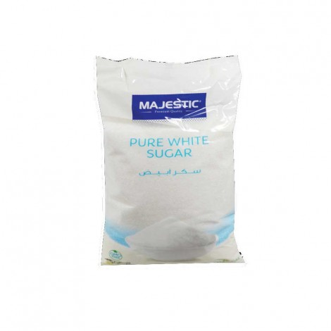 Majestic Pure White Sugar 2Kg