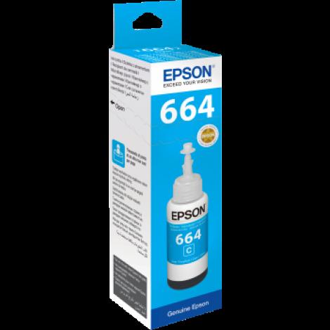 Epson Cyan Ink Bottle T6642