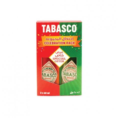 Tabasco Hot Sauce Assorted 2x60ml