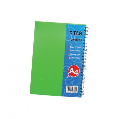 Tajs Note Spiral Note Book 150 Sheets Arabic