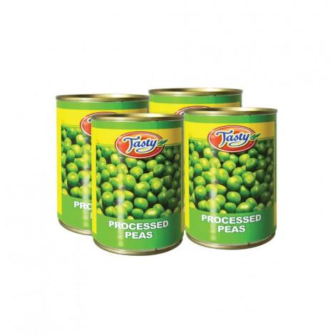 Tasty Green Peas 3+1x400gm