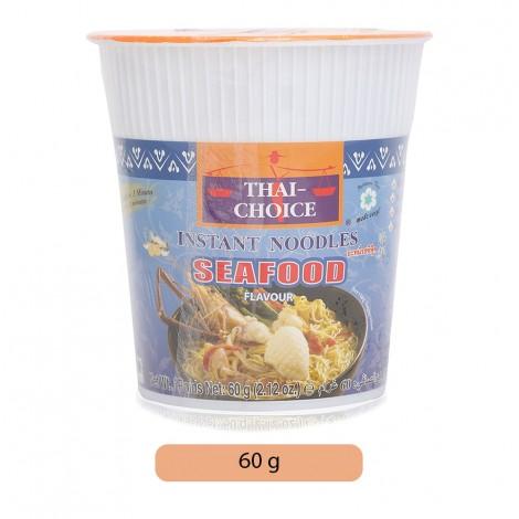 Thai Choice Seafood Flavor Instant Noodles - 60 g