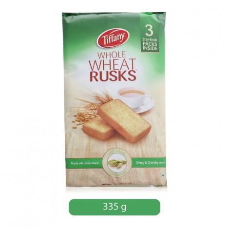 Tiffany Whole Wheat Rusk - 335 g