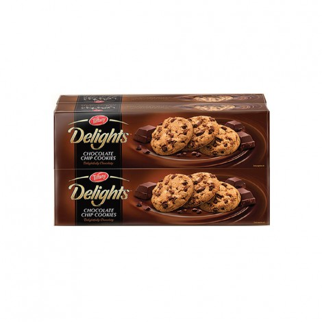 Tiffany Delights Chocolate Chip Cookies 4x100g