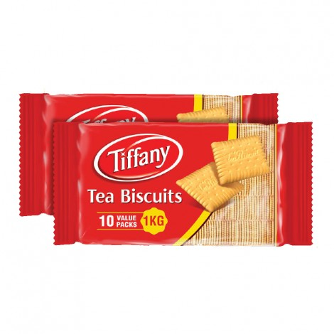Tiffany Tea Biscuits 2x10x100gm