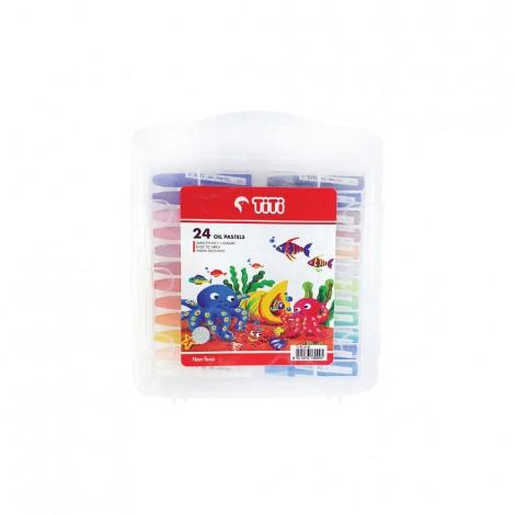 TITI Oil Pastels 24Color 11Mm X 75Mm
