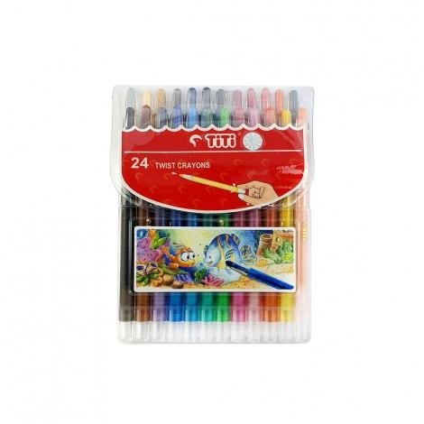 Titi Twist Crayons 24Color