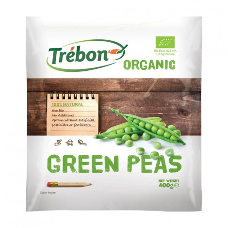 Trebon Organic Peas Medium Fin - 400gm