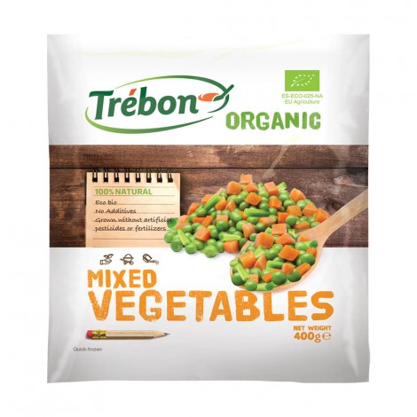 Trebon Organic Mixed Vegetable - 400gm