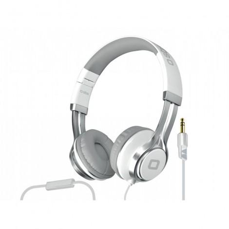 SBS TTHEADPHONEDJEVO Stereo Headphone Studio Mix Dj Evo, Jack 3,5 Mm With Answer Key And Microphone