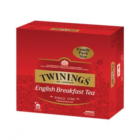 Twining English Breakfast Tea - 100's
