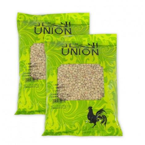 Union Green Dal 2 x 1Kg