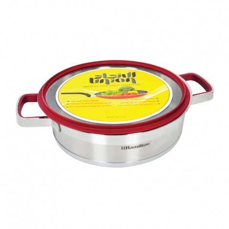 Union Stainless Steel Cooking Pot with Lid 24cm, 4.5 Ltr