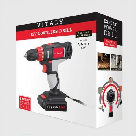 Vitaly 12V Cordless Drill