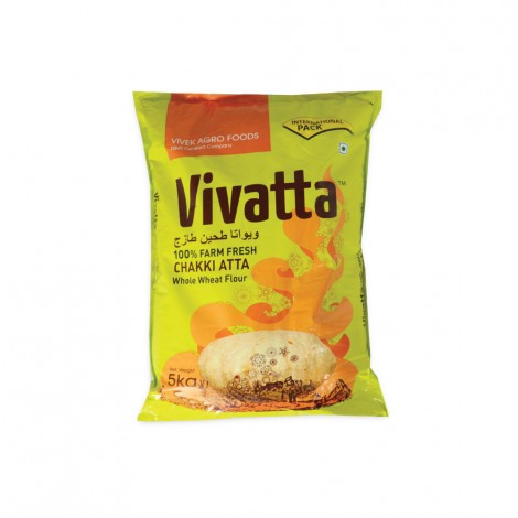 Vivatta Chakki Fresh Atta - 10Kg