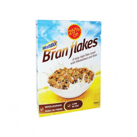 Weetabix bran Flakes 500gm