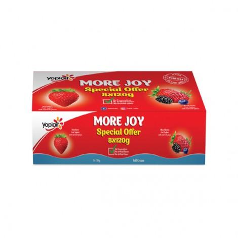 Yoplait Fruit Yoghurt Assorted - 8x120 gm
